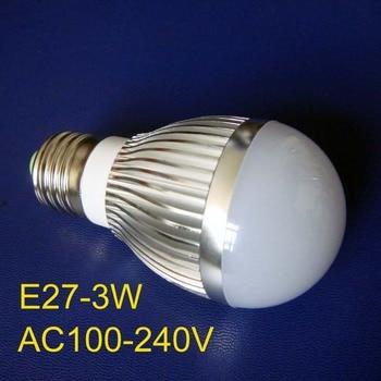 High quality 3W E27 led lights, E27 3W high power led lamp ,E27 led bulbs 3w free shipping 20pcs/lot