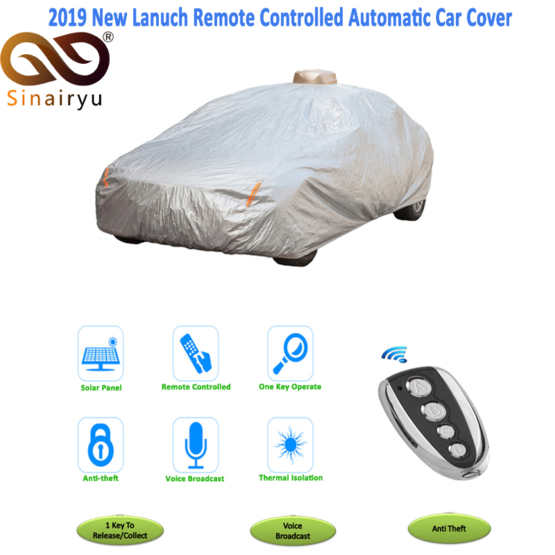 Automatic Car Cover Solor energy Full-automatic Car Cover with Remote Control quick and convenient(China)