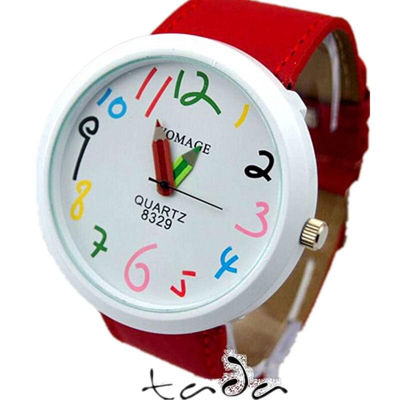 υψηλής ποιότητας καρτούν μολύβι χέρι - Γυναικεία ρολόγια - Φωτογραφία 3