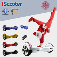 6 5 Inch Hoverboard Electric Skateboard 2 Wheel Bluetooth Smart Remote Self Balance Scooter Balance Hover