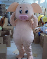 hot Maiale Pig Mascot Costume Fancy Outfit Cartoon Character Party Dress for Halloween party event