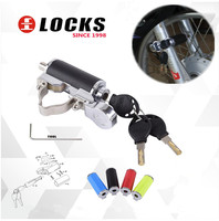 New 2019 motorcycle bicycle Scooter shock absorber anti theft lock Motorbike security lock 4 colors