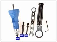 Rivet Nut Tool AdaptoM6 M8 M10 Electricity Rivet Nut Tool Adapter Cordless Drill Adapter Rivet Nut
