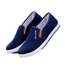 Zapato de los hombres de los hombres zapatos de lona ocasionales masculinos chaussure homme Zapatos de marca Mocasines planos cómodos