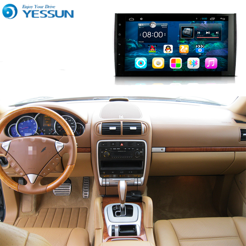 Para Porsche Cayenne 2004 ~ 2010-Sistema de reproductor Multimedia para coche Android Radio estéreo navegación GPS vídeo de Audio Multimedia