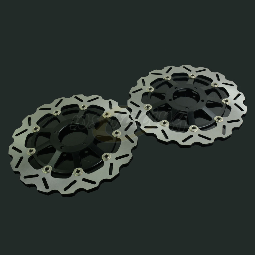 320MM Motorcycle Front Wavy Floating Brake Disc Rotor For DUCATI 749 749R 848 848EVO 999BIPOSTO 999S 999R S4R S4RS MONSTER1100 free shipping motorcycle left and right clutch brake handle levers for ducati 696 999 1100 1199 1200 749 749s 749r 848 2008 2015