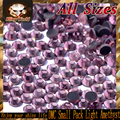 SS6 SS10 SS16 SS20 Small Pack Heat Transfer Flatback Light Amethyst DMC Hot Fix Rhinestones for Phonecase Decoration DIY Nail