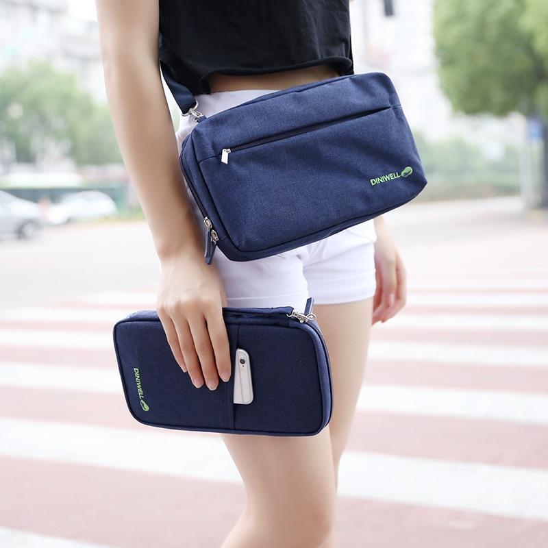 Dropshipping DINIWELL Travel Satchel Bag Water Resistant Messenger Bag Unisex Shoulder Crossbody Bag Handbag Wallet Purse Holder messenger bag
