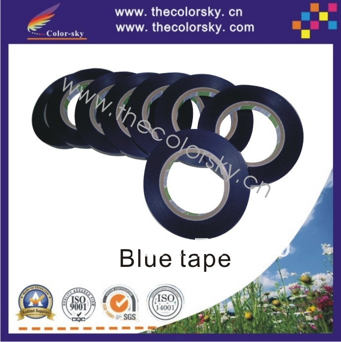 (ACC-33) sealing Blue tape for ink inkjet cartridge for hp for canon for lexmark for Dell for Samsung for kodak 100M*13MM