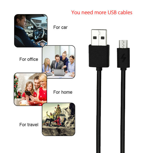 5V2A Micro USB Cable For Xiaomi USB Data Charger Cable Mobile Phone Cables Quick Charger For Phone For Samsung Sony HTC Oneplus