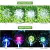 Muiltcolor Outdoor Solar Garden Lights Lotus Dandelion Lily Sunflower Stake Lights for Yard Garden Path Way Landscape Decoration discount