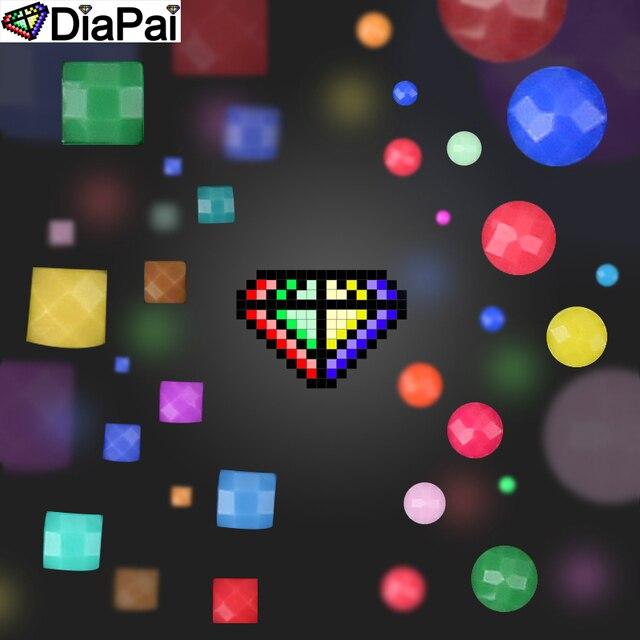 DIAPAI 100% perceuse carrée/ronde | Peinture au diamant pour bricolage 5D,