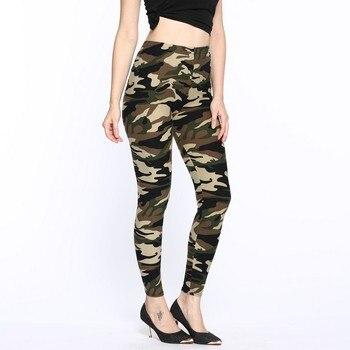 female legging camouflage 2019 fashion plus size women leggings print casual pants elastic hot sale pant punk woman clothes