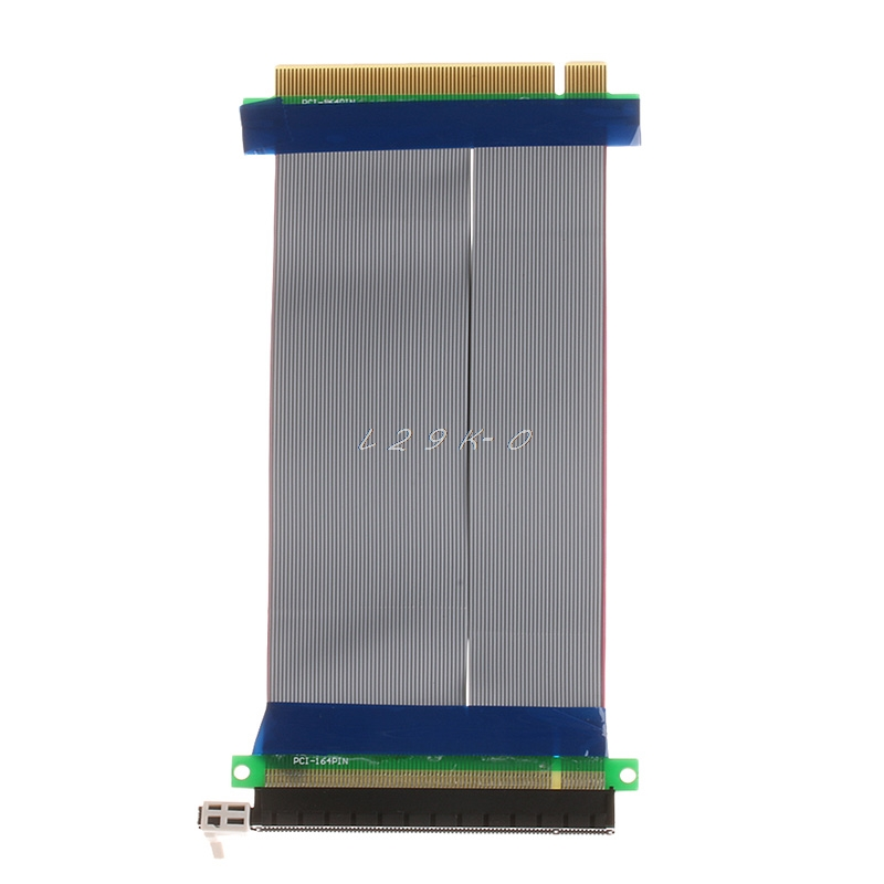 PCI Slot Card PCI Express PCI-E 16X To 16X Riser Extender Card Adapter Flexible Cable