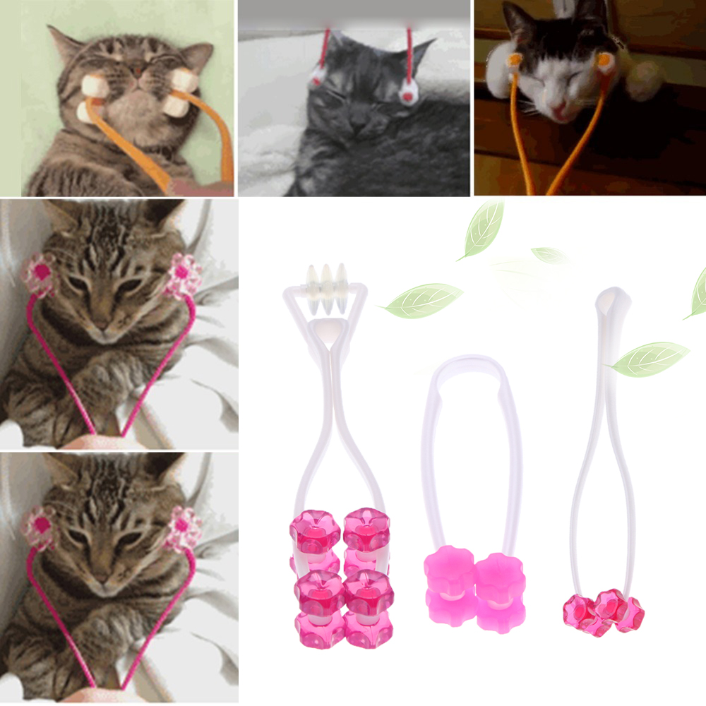 Cat Massage Tool Cat Thin Face Massager Feet Leg Massager Health Care Grooming Tool For Cat Supplies Pet Products