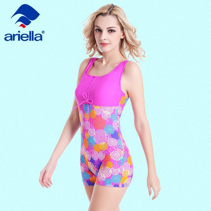 Swimsuit Dress Women Printing One Piece Beach Swimwear Strap Pattern Swimsuit Skirted Summer Bathing Suit ari-59F 51163 женское платье summer dress 2015cute o women dress