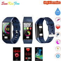 For Huawei P20 Lite P20 P10 Pro Smart Wristband ECG Heart Rate Blood Pressure Fitness Tracker Watch Sports Smart Bracelet Band