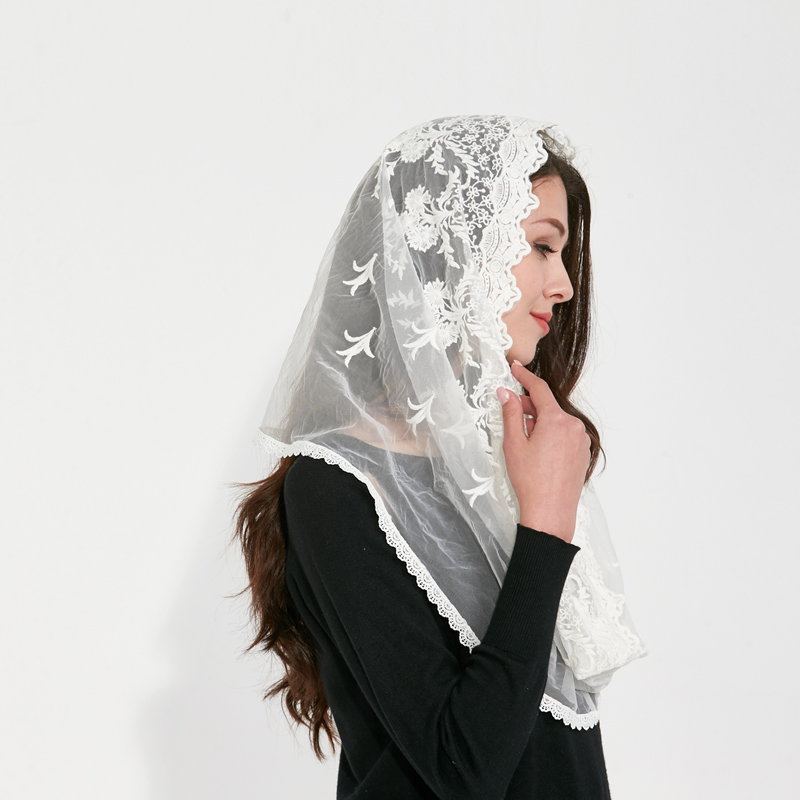 Muslim Hijab Jersey Pashmina Schals Indien Femmes Damen Schal - Bekleidungszubehör - Foto 4
