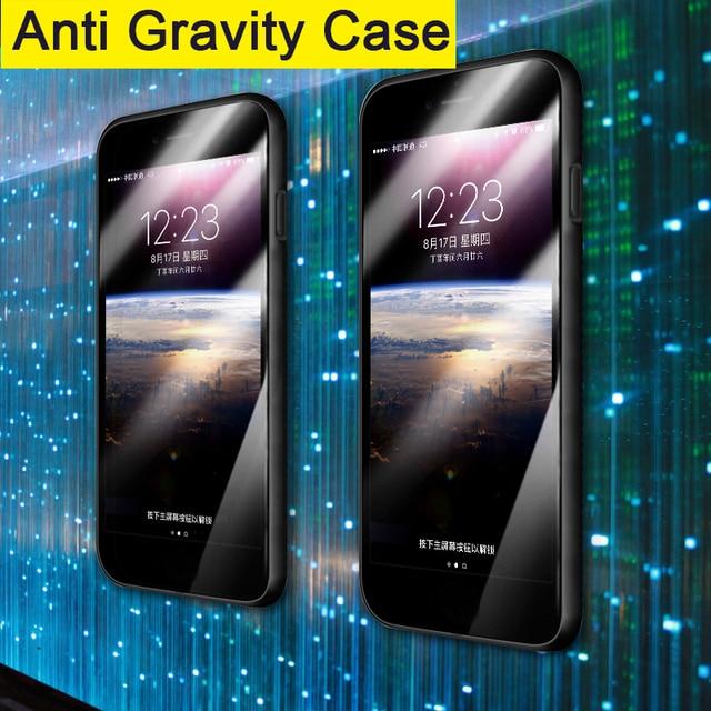 release date 17bea bb7f2 Anti Gravity Case For XiaoMi Mi 5 6 8 SE 5X 6X 5S Magical Nano Suction  Cover Frame Adsorbed Case For Xiaomi Mi Note 3 A1 A2