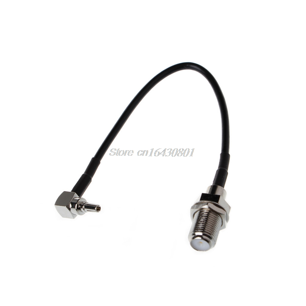 RF Pigtail Cable F to CRC9 connector F female to CRC9 right angle crimp RG316 Pigtail cable 15cm New S18 Drop ship
