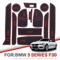 Porta slot pad Per BMW 1 Serie F20 F30 2012-2018 BMW Serie 3 F30 F31 116 118 Interno porta Pad Auto Supporti di Tazza tappetini antiscivolo