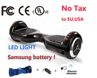 2 Wheel Electric Scooter Bluetooth Remote Bag Hoverboard Electric Skateboard Standing Drift Board Hoverboard