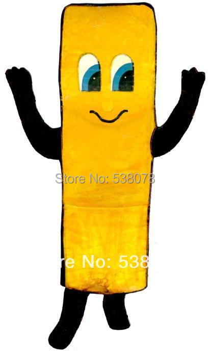 Fast Food Advertising Mascot French Fry Mascot Costume