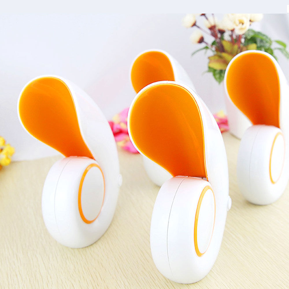 Mini USB Portable Air Conditioner Fan Desk No Leaf Bladeless Cooling Conch Sale