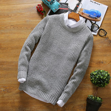Wool Sweaters For Men Sweater Coat Cashmere Pullovers Jacket Mens Pullover 2017 Knitted Striped Christmas Fashion m09
