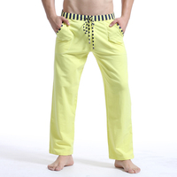 Brand Man Winter Autumn Pajamas Pants Sexy Warm Cotton Men S Sleep Bottoms Fashion Sleeping Pants