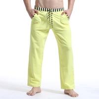 Brand Man Winter Autumn Pajamas Pants Sexy Warm Cotton Men S Sleep Bottoms Fashion Sleeping Pants
