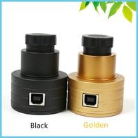 Aletler'ten Mikroskoplar'de 2MP Teleskop Dijital Mercek USB CMOS Elektronik Mercek Kamera 1.25 0.91 Inç Siyah Profesyonel