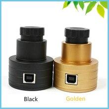 Best price 2MP Telescope Digital Eyepiece USB CMOS Electronic Eyepiece Camera 1.25 0.91 Inch Black Professional