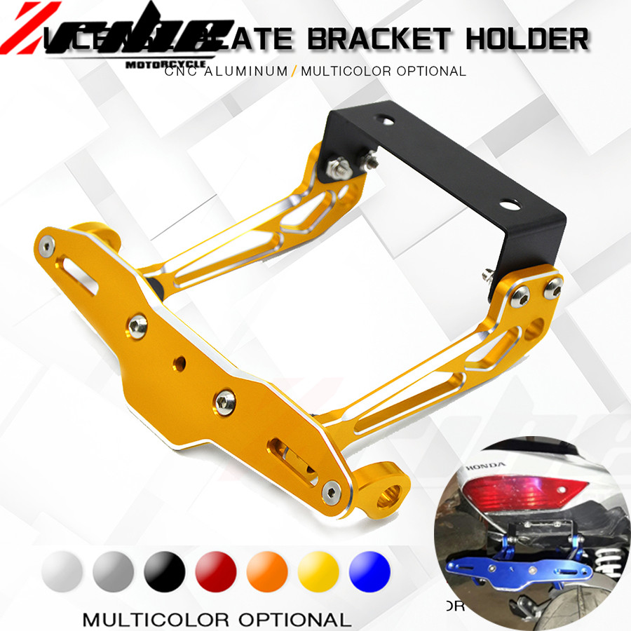 POUR Fender Eliminator moto License plate Bracket Ho Tail Tidy Universel Pour Honda CB600F 599 CBR600F CBF600/SA CB 600F Hor