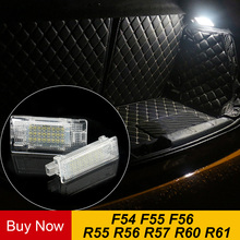 Светодиодный Чемодан лампы Интерьер Купол Light багажнике автомобиля свет лампы для Mini Cooper One S F56 F55 F54 R56 R60 R61 автомобильные аксессуары