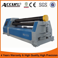 Industrial Direct 4 roller bending machine Model W12 plate rolling machine price