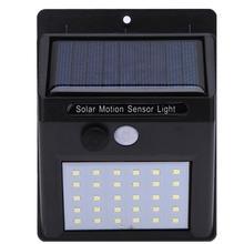 Waterproof IP65 30 LED Solar Light Solar Panel Power PIR Motion Sensor Garden Light Outdoor Pathway Sense Solar Lamp Wall Light