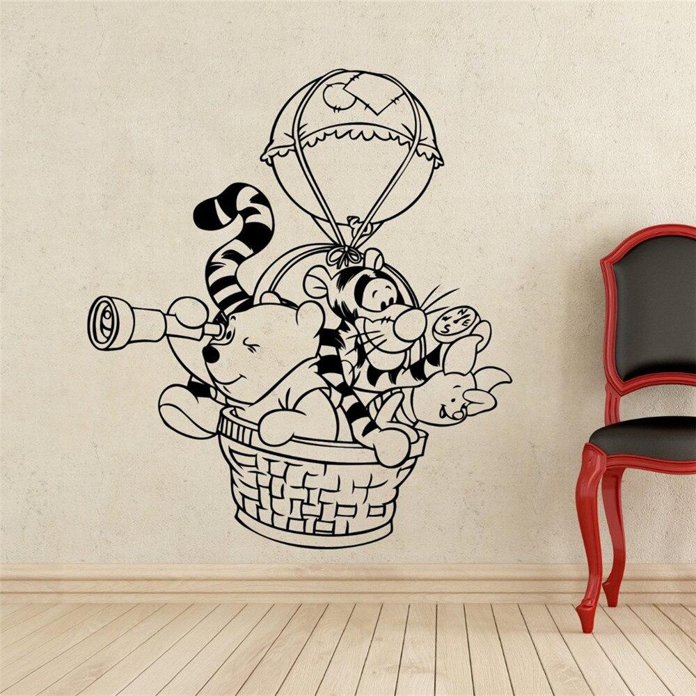 Wandsticker Babyzimmer Winnie Pooh | Wandtattoo Wandsticker ...