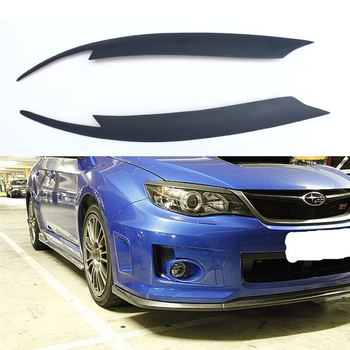 FRP Primer Front Headlight Cover Eyelid Eyebrow For Subaru Impreza 10th 2008+ okulary wojskowe