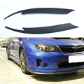 FRP Primer Front Headlight Cover Eyelid Eyebrow For Subaru Impreza 10th 2008+
