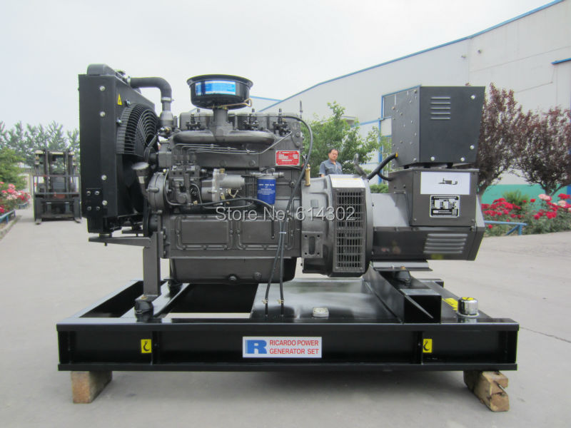 weichai Ricardo 30kw/37.5kva diesel generator China diesel generator with brushless alternator ricardo arjona cali