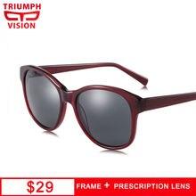 Солнцезащитные очки triumph vision женские ацетатные солнечные
