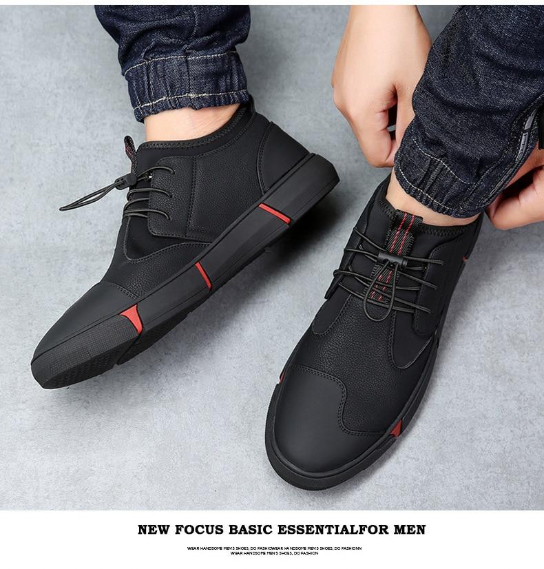 Printemps hommes chaussures décontractées de haute qualité semelles souples appartements confortables en cuir chaussures pour hommes printemps homme conduite mocassins mocassins
