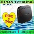 TP-Link Fibra EPON Terminal de acceso IEEE 802.3/u/ab/ah módem de fibra óptica 1.25 Gbps SC/PC Puerto EPON para 1000 Mbps Gigabit RJ45 Puertos