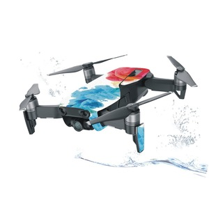 Image 4 - Skin Multi color Waterproof Stickers Decals PVC Cover Protector for DJI Mavic Air Drone Body Spare Parts Accessory