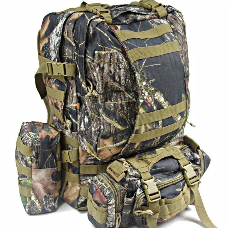 Hot extérieur bionique Camouflage Molle combiner sac à dos Camping escalade randonnée armée militaire chasse Snipers sacs multifonctions