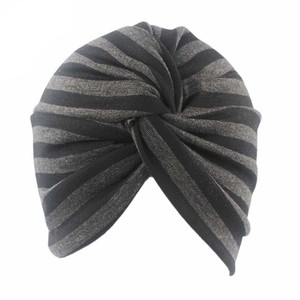 Image 2 - Головной убор для мусульманских женщин, стрейчевая хлопковая ткань, Φ тюрбан, головной убор для пациентов с раком