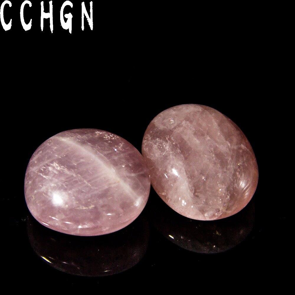Naturel 40-50mm Labradorite clair rose quartz Pierre Polie Jasper Perle Guérison Point Chakra blanc Cristal Reiki Envoyer aléatoire