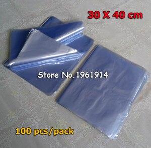 30*40cm miękkie przezroczyste dmuchane formy PVC termokurczliwe torby termokurczliwe folie do pakowania opakowania kosmetyczne opakowania plastikowe torby