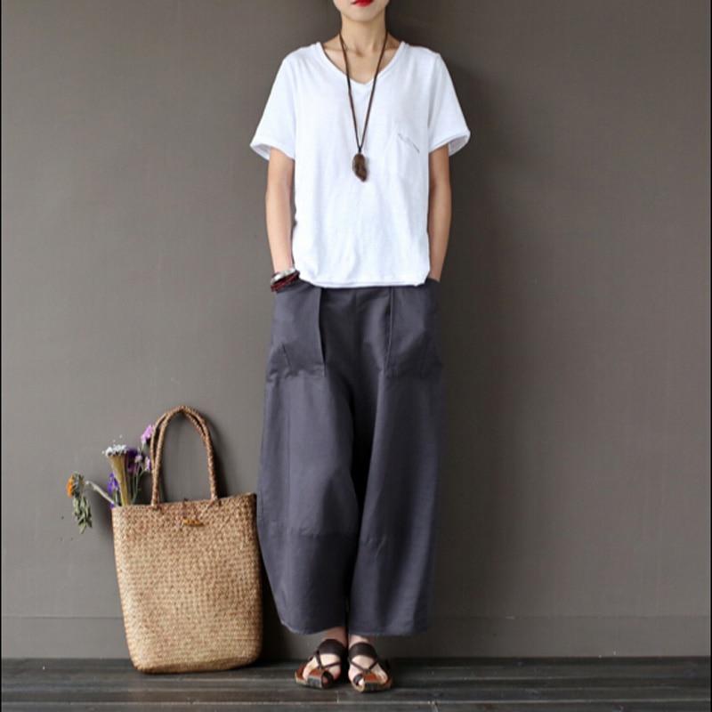 Baggy Linen Pants | Gpant